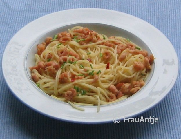 spaghetti mit krabben ein kochmeister rezept. Black Bedroom Furniture Sets. Home Design Ideas