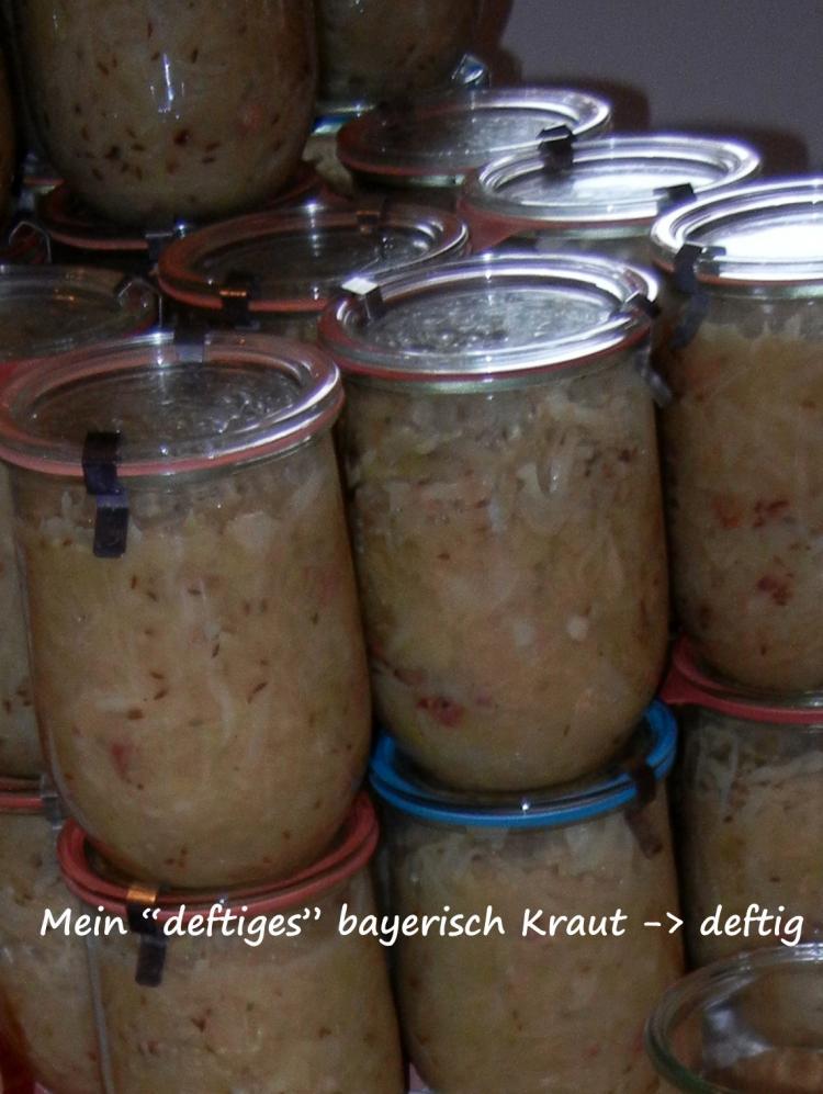 bayrisch kraut aus spitzkohl