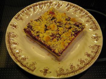 rote gr tze kuchen mit streuseln ein kochmeister rezept. Black Bedroom Furniture Sets. Home Design Ideas